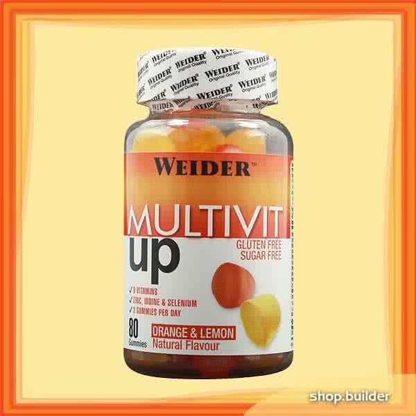 Weider Nutrition MiltiVIT Up 80 tabl. de mest.