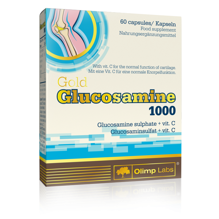Olimp Sport Nutrition Gold Glucosamine 1000 60 caps.