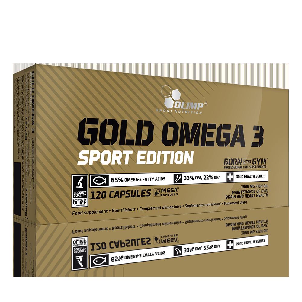 Olimp Sport Nutrition Gold Omega-3 Sport Edition 120 caps.