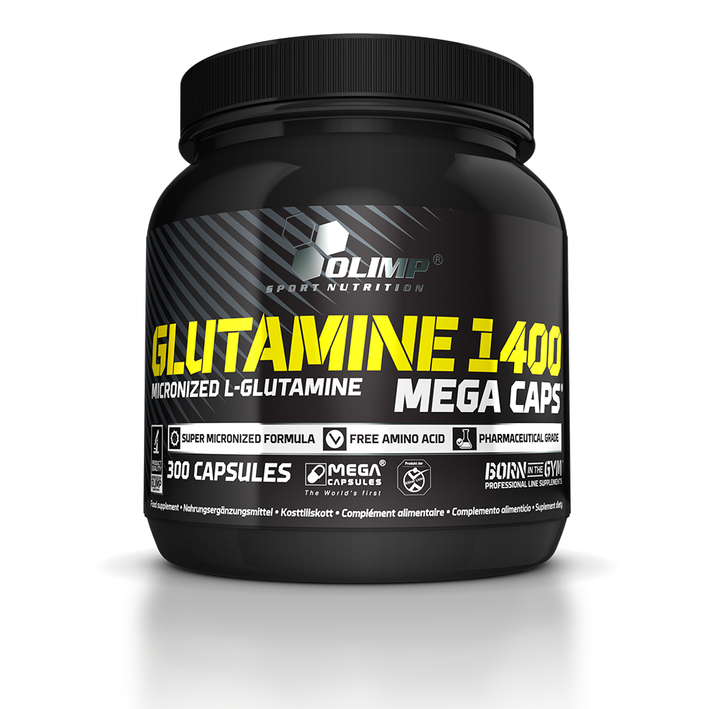 Olimp Sport Nutrition L-Glutamine 1400 Mega Caps 300 caps.