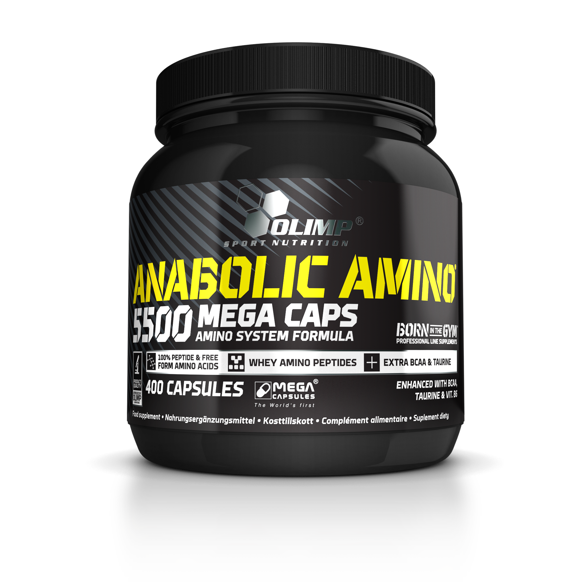 Olimp Sport Nutrition Anabolic Amino 5500 Mega Caps 400 caps.