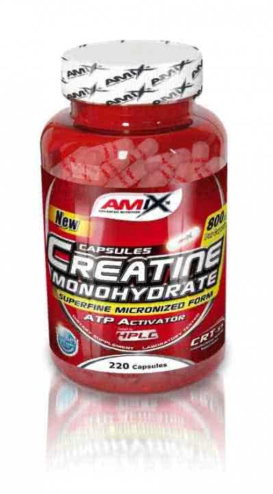 Amix Creatine Monohydrate Capsules 220 caps.
