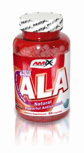 Amix ALA - Alpha Lipoic Acid 60 caps.