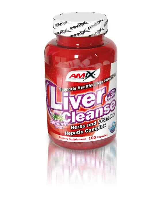 Amix Liver Cleanse 100 caps.