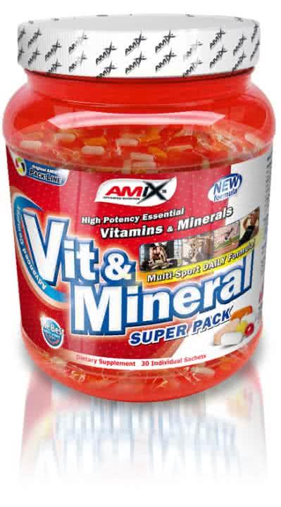 Amix Super Vit&Mineral Pack 30 pac.