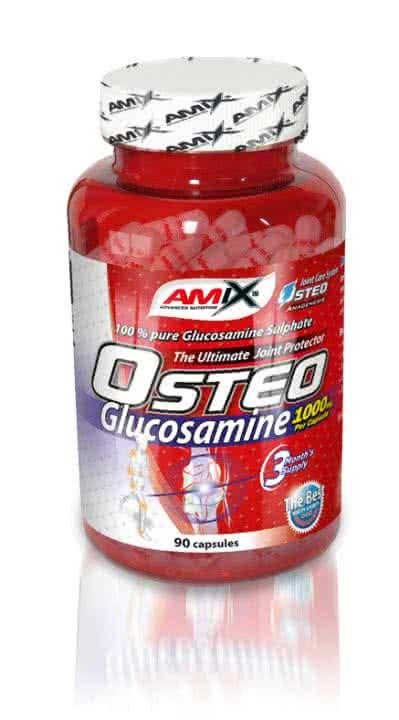 Amix Osteo Glucosamine 90 caps.
