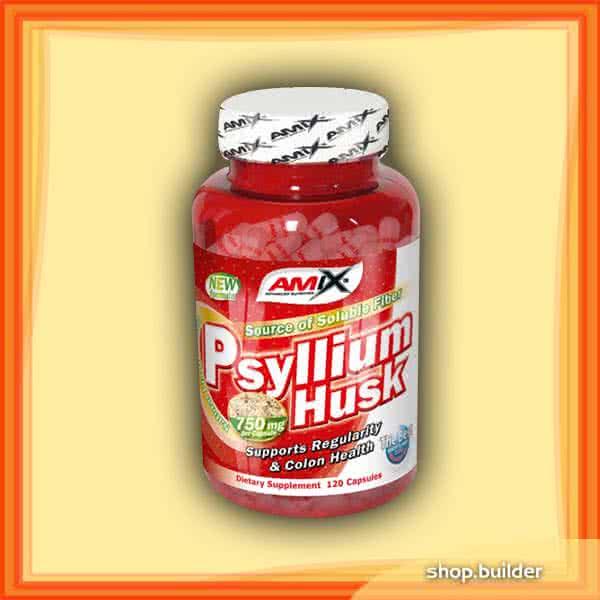 Amix Psyllium Husk 120 caps.