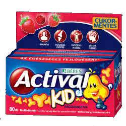 Beres Actival Kid 80 tabl. de mest.