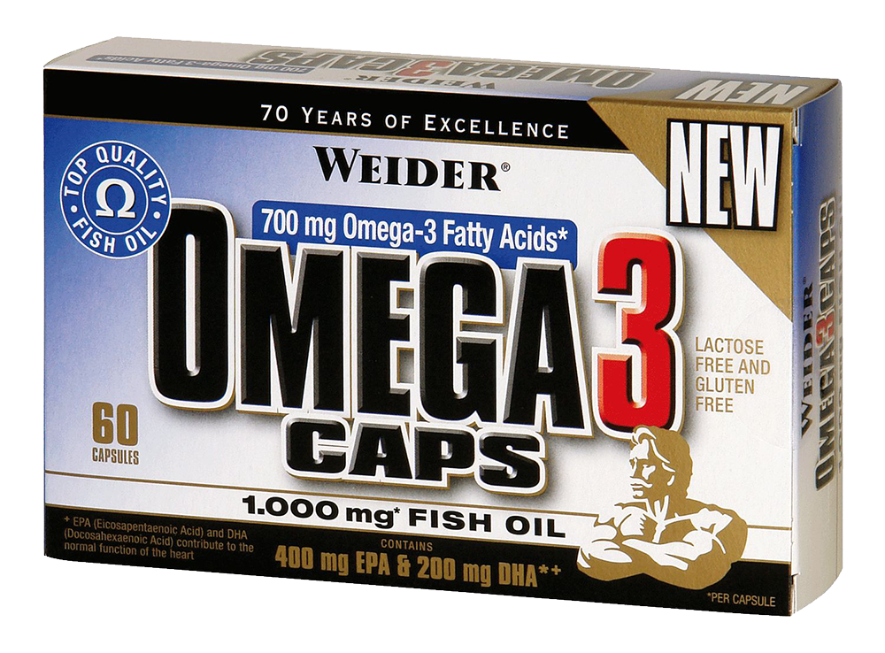 Weider Nutrition Omega 3 60 caps.