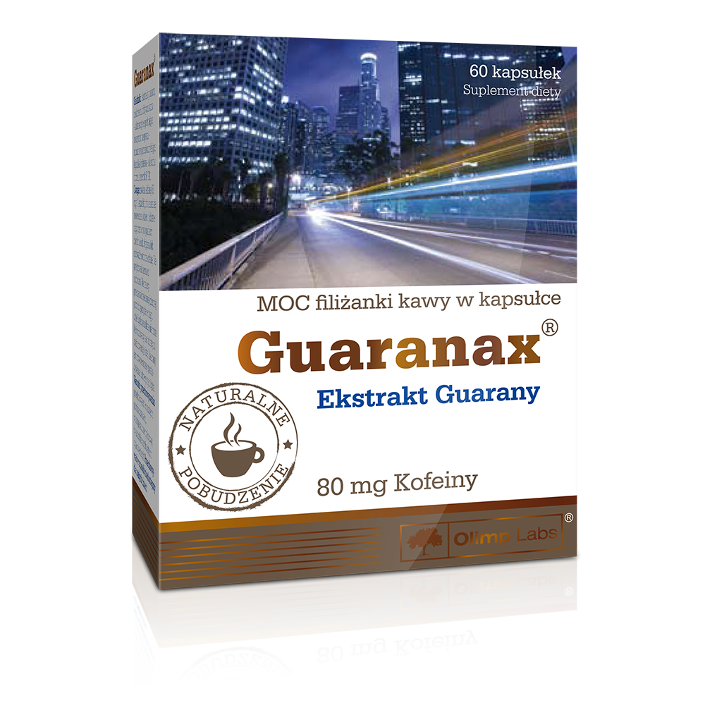 Olimp Sport Nutrition Guaranax 60 caps.