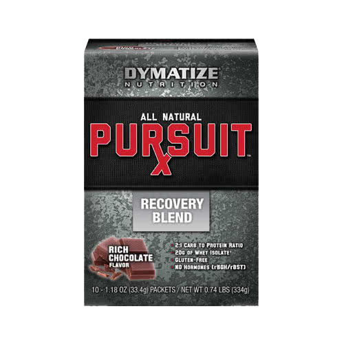 Dymatize Pursuit RX Recovery Blend 10x33,4 g