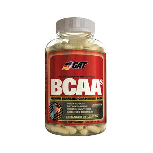 German American BCAAs 180 caps.