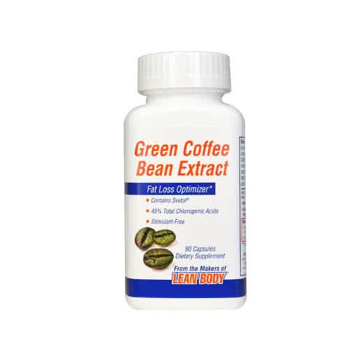 Labrada Green Coffee Bean Extract 90 caps.
