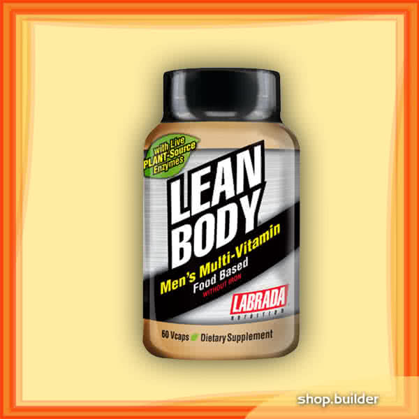 Labrada Lean Body Mens Multi-Vitamin 60 caps.