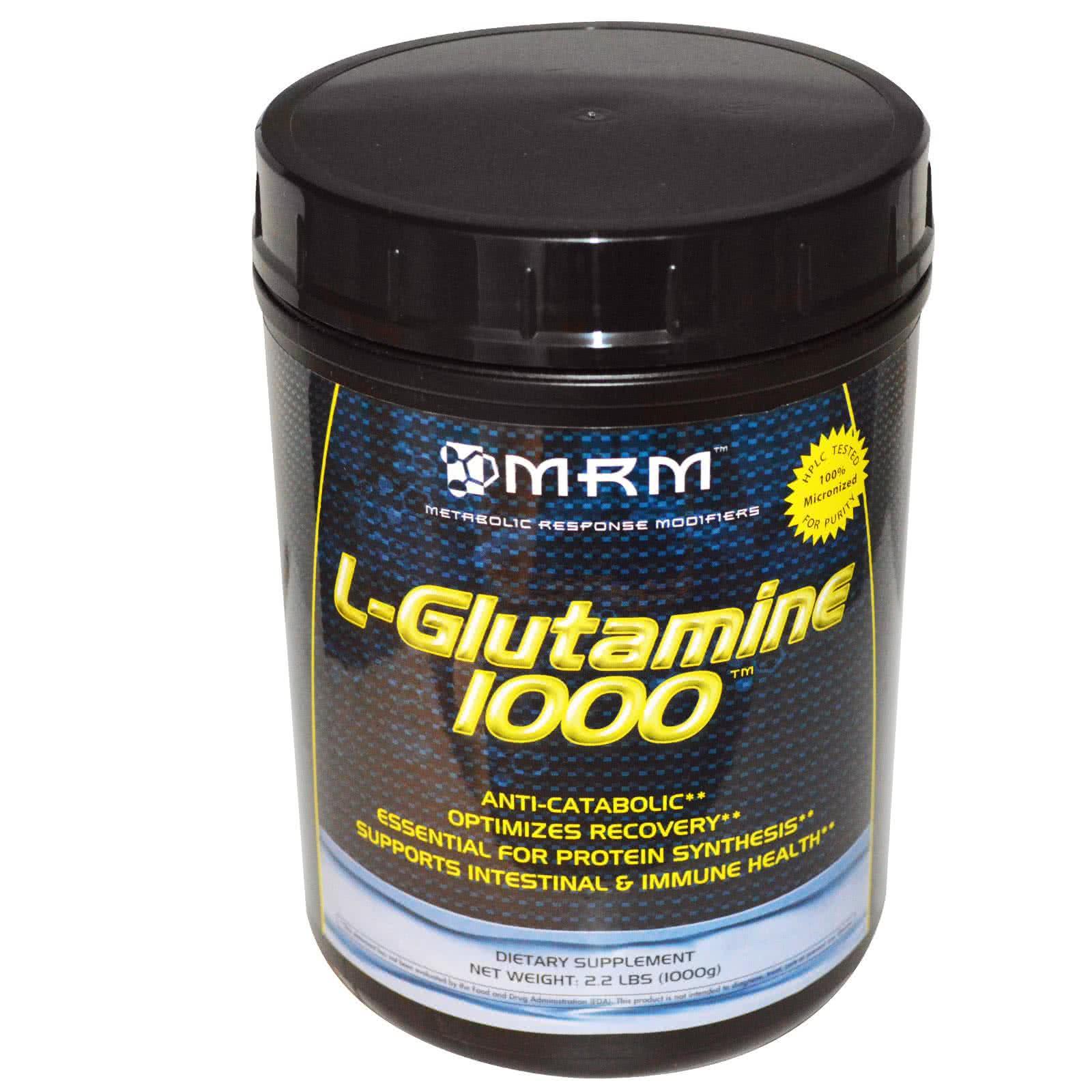 MRM L-Glutamine 1000 gr.