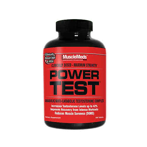 MuscleMeds Power Test 168 caps.