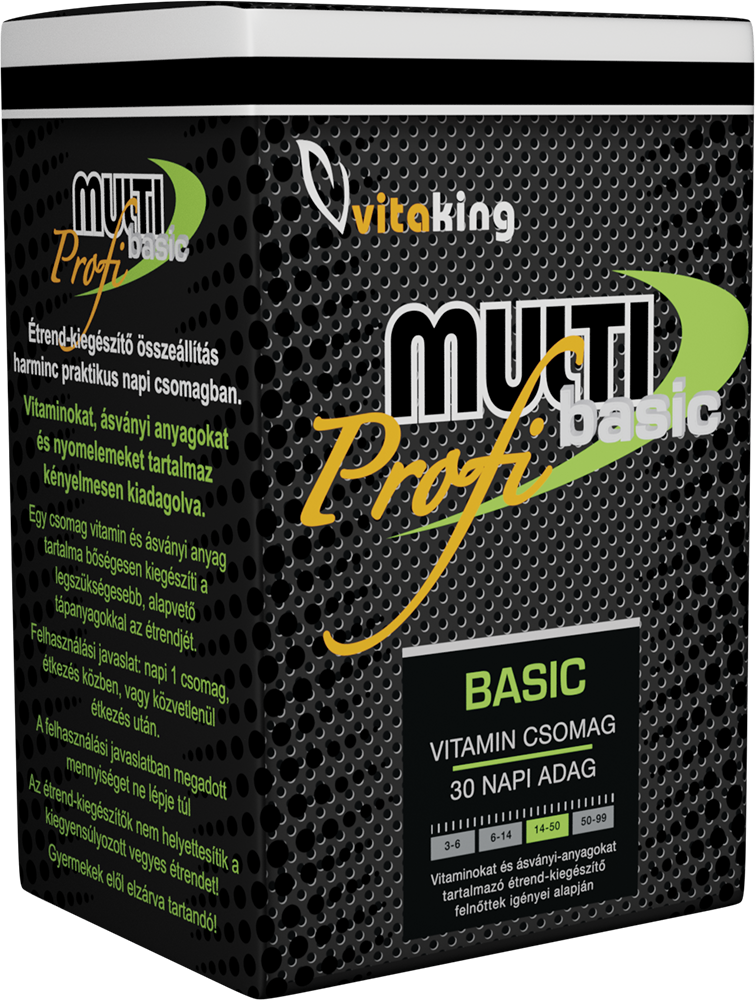 VitaKing Multi Basic Profi 30 pac.
