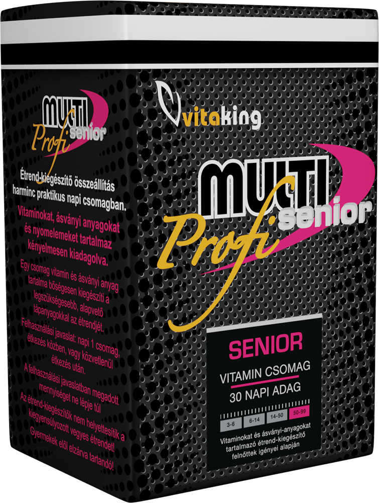 VitaKing Multi Senior Profi 30 pac.