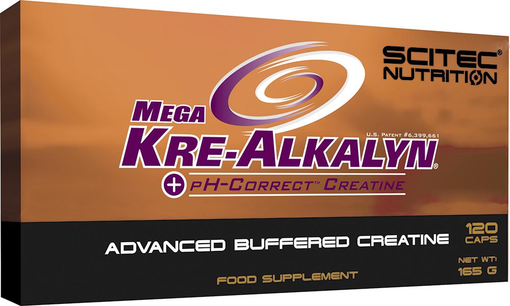 Scitec Nutrition Mega Kre-Alkalyn 120 caps.