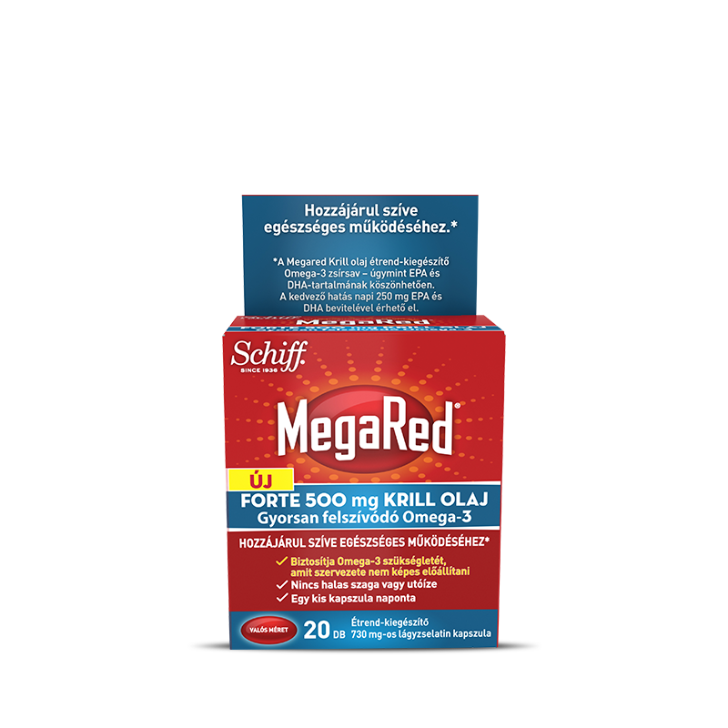 Schiff MegaRed® Forte Krill Oil  20 caps.