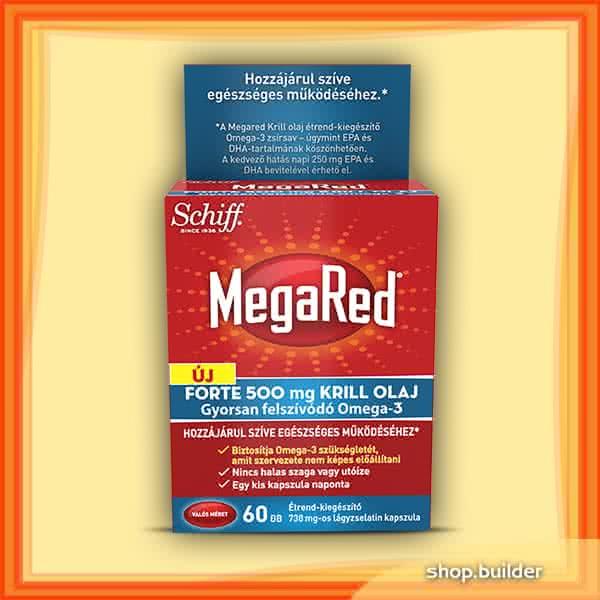 Schiff MegaRed® Forte Krill Oil  60 caps.