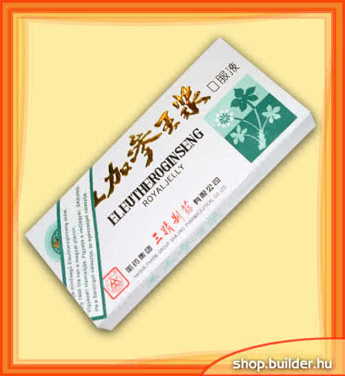Alte suplimente nutritive Eleuthero Ginseng + Royal Jelly 10 amp.