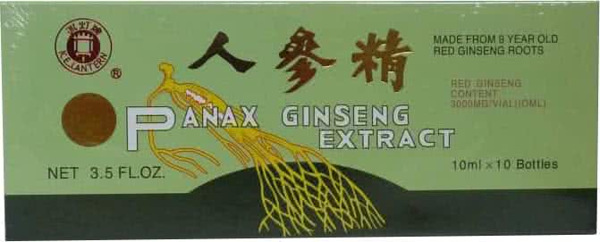 Dr. Chen Panax Ginseng Extract 10 amp.