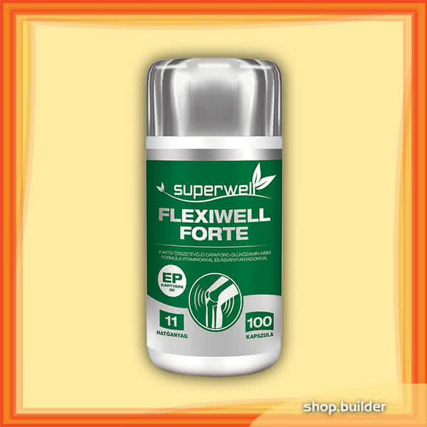 Superwell Flexiwell Forte 100 caps.