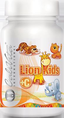 Calivita International Lion Kids C 90 tabl. de mest.