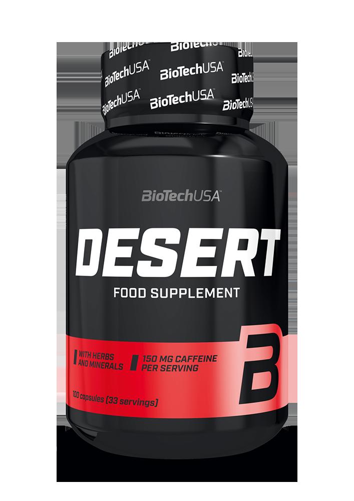 BioTech USA Desert 100 caps.