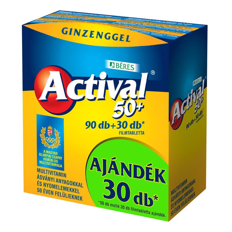 Beres Actival 50+ 90 tab.+30 tab.