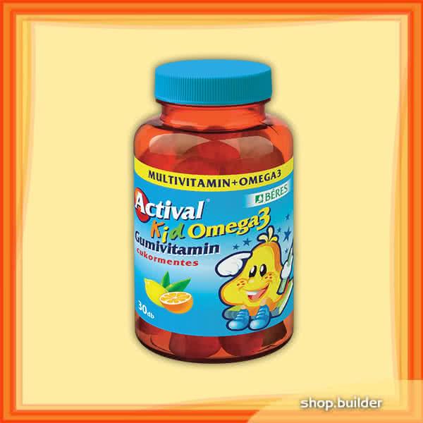 Beres Actival Kid Omega-3 30 tabl. de mest.
