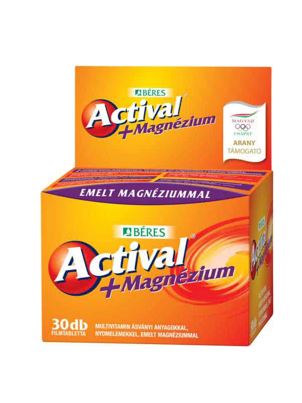 Beres Actival + Magnesium 30 tab.