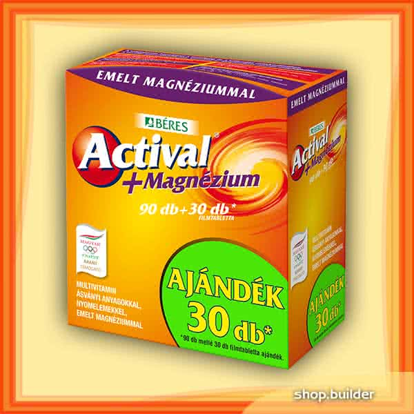 Beres Actival + Magnesium 90 tab.+30 tab.
