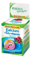 Beres Calcium + D3 for Kids (30 tabl. de mest.)