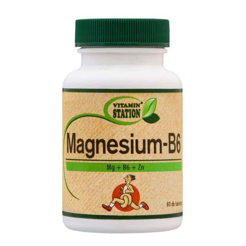 Vitamin Station Magnesium+B6 60 tab.