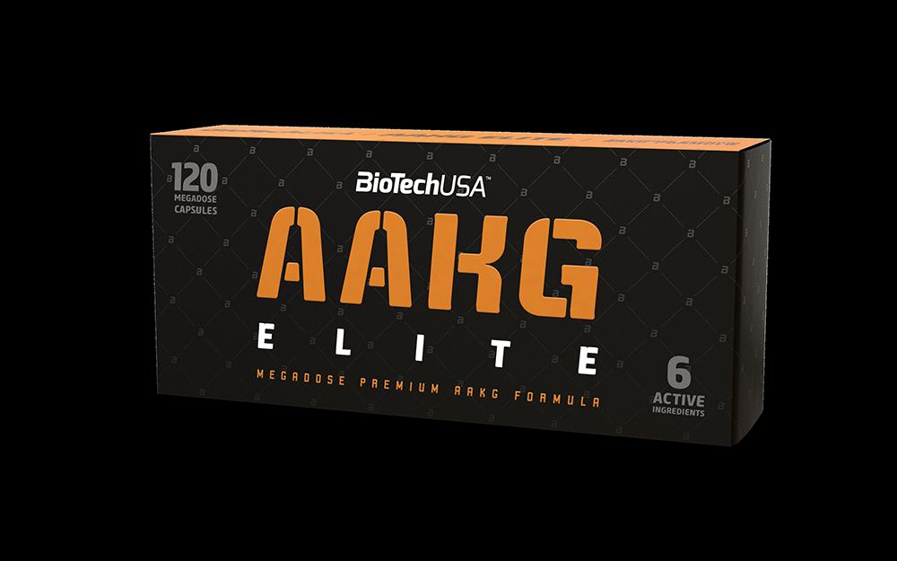 BioTech USA AAKG Elite 120 caps.