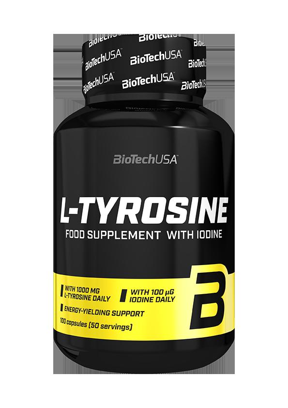 BioTech USA L-Tyrosine 100 caps.