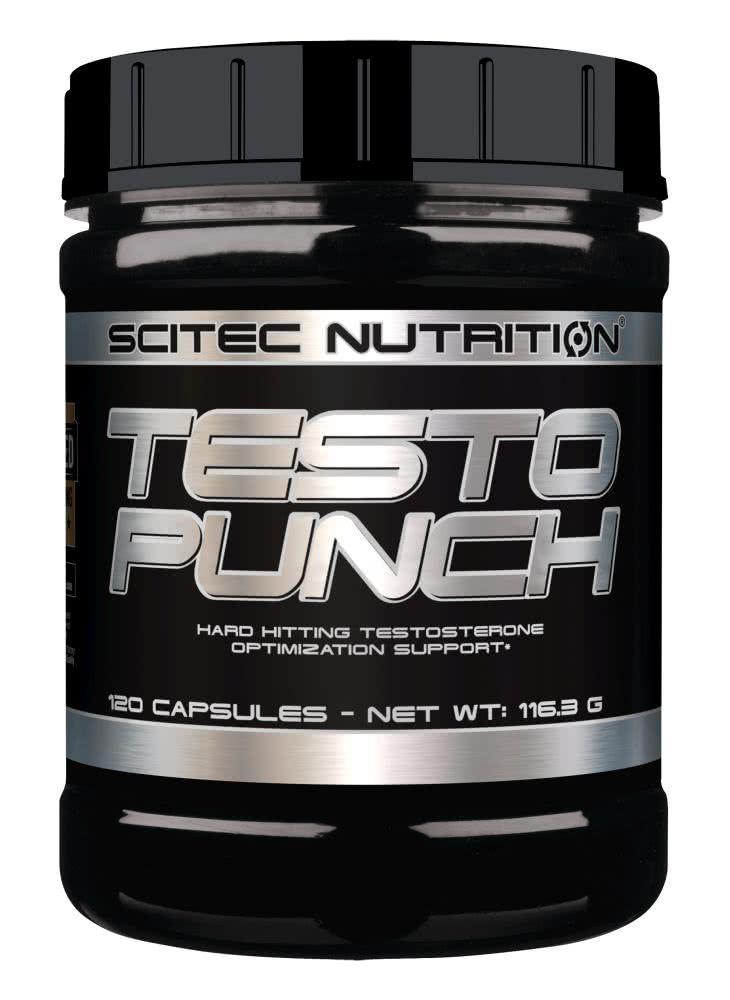 Scitec Nutrition Testo Punch 120 caps.