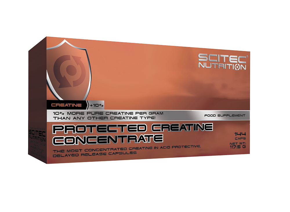 Scitec Nutrition Protected Creatine Concentrate 144 caps.