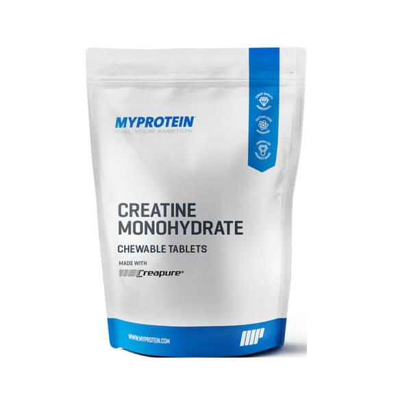 Myprotein Creatine Monohydrate (Creapure®) Chewable Tablets 180 tabl. de mest.