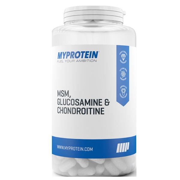 Myprotein MSM Glucosamine Chondroitin 120 caps.