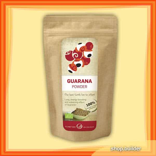 PlanetBio Guarana powder 100 gr.