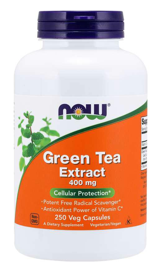 Now Foods Green Tea Extract 100 caps.