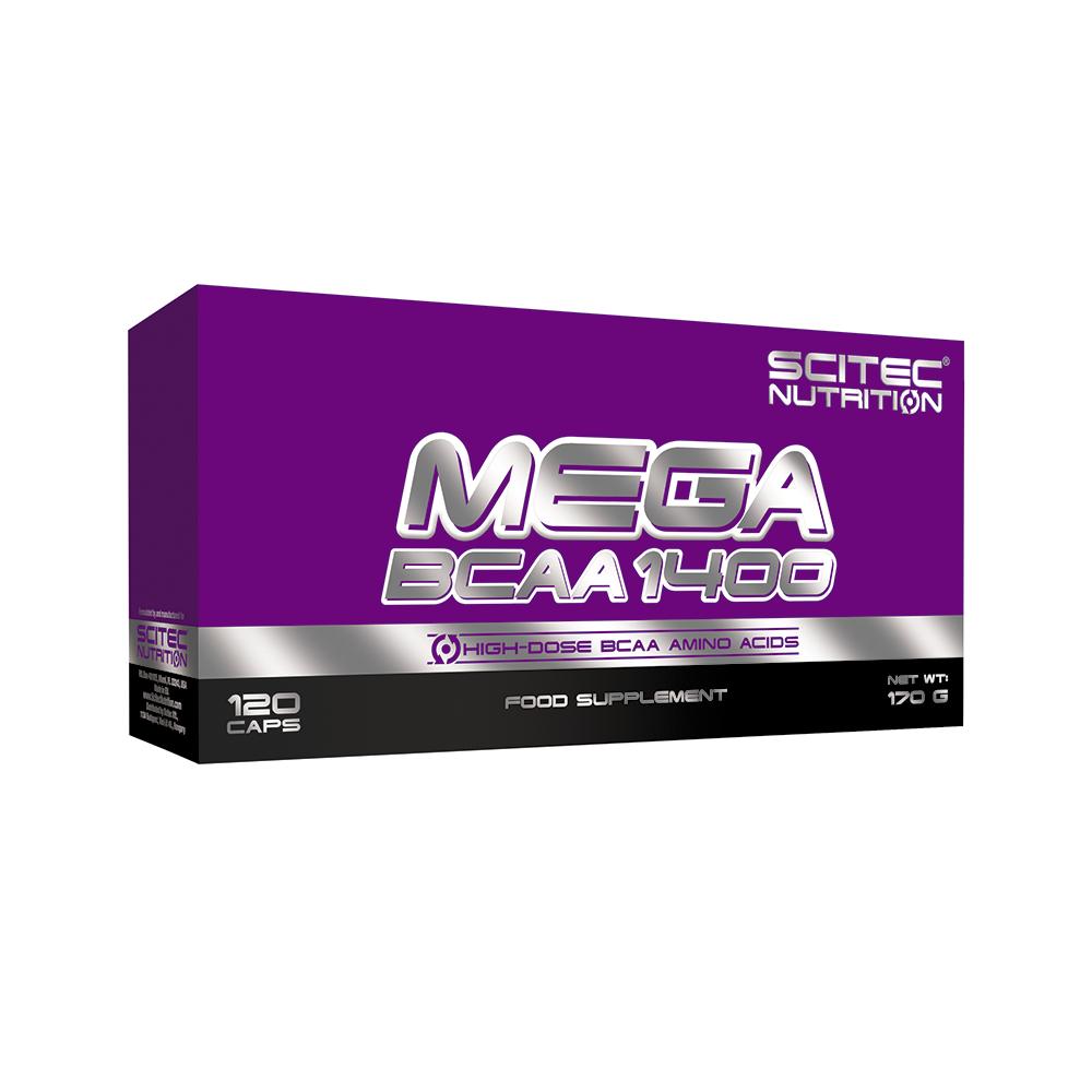 Scitec Nutrition Mega BCAA 1400 120 caps.