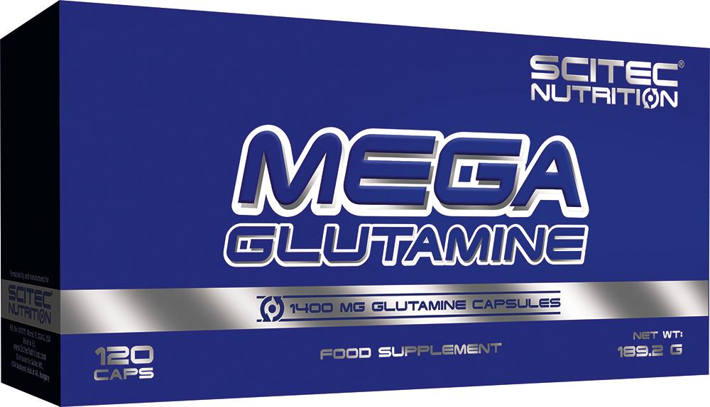 Scitec Nutrition Mega Glutamine 120 caps.