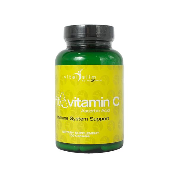 Maxximum Nutrition Fit Vitamin C 100 caps.