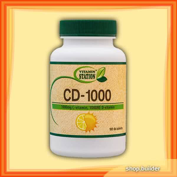 Vitamin Station CD-1000 100 tab.