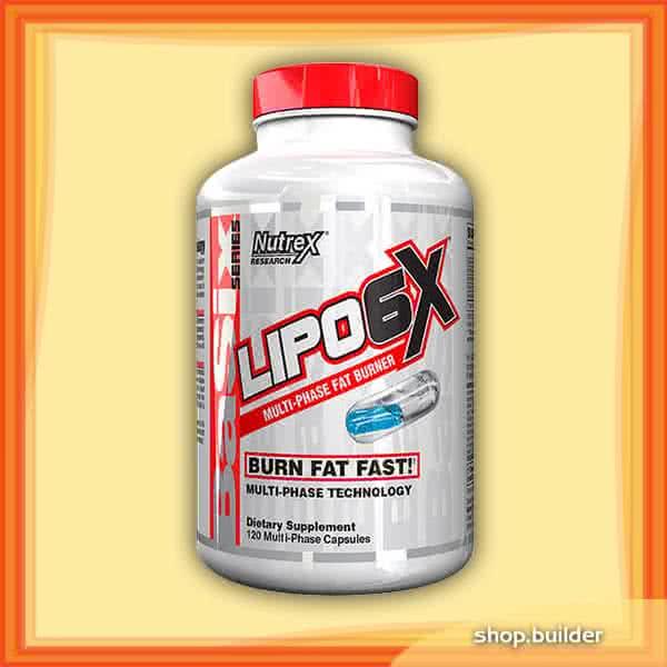 NutreX Lipo-6X 120 caps.