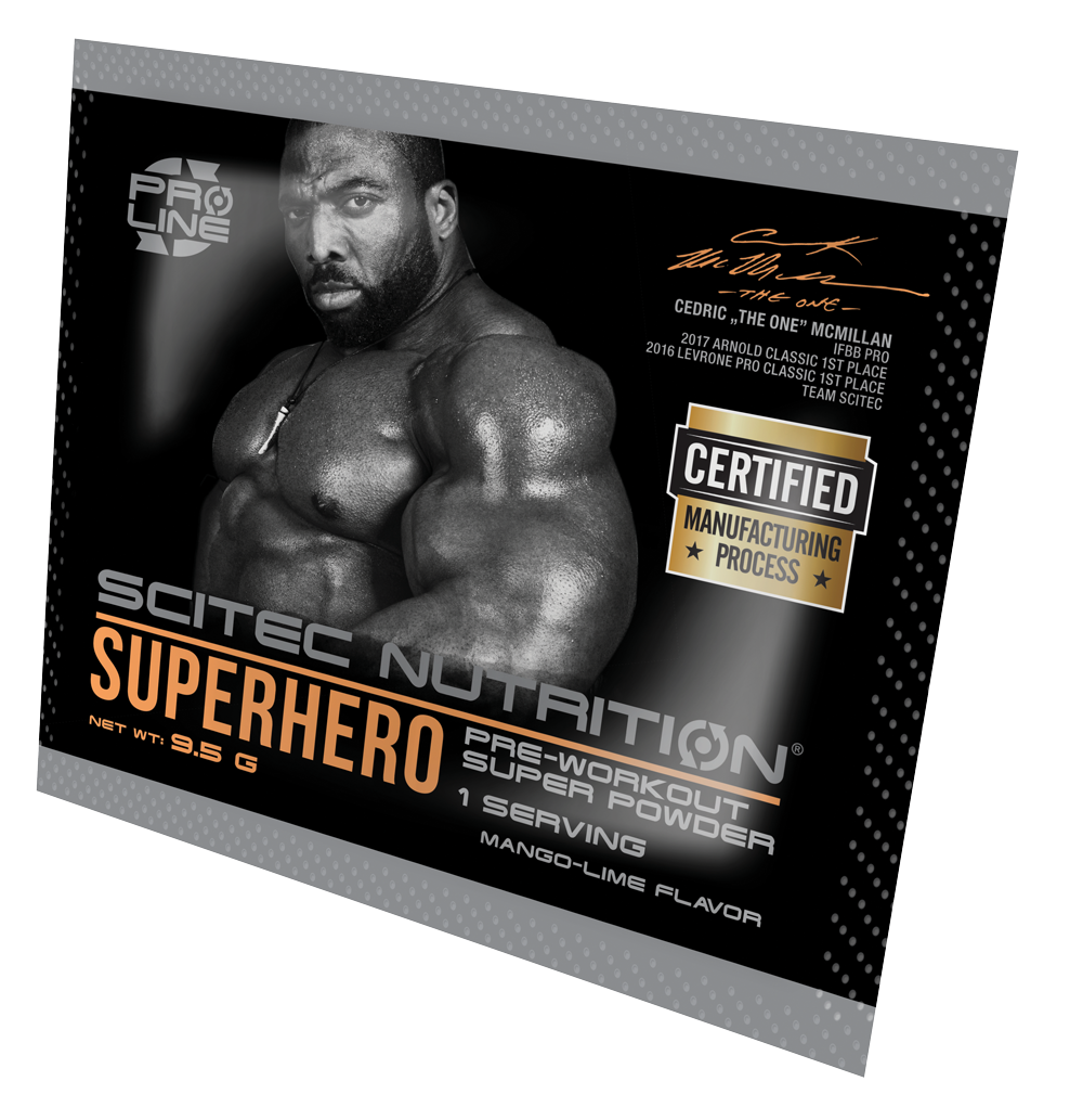 Scitec Nutrition Superhero 9,5 gr.
